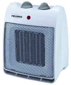 Pelonis NT20 12D Ceramic Safety Furnace 1500 Watt.  See why this Small Ceramic Heater is the EDITOR'S CHOICE!