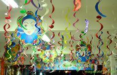 decoração carnavalesca