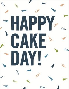 Seltzer Goods Cake Day Cards