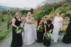 Enjoy every moment on your wedding day, the day passes so quickly, cherish the fun memories you will have. Emily looked stunning in her Bertossi Brides one shoulder, printed silk organza gown that we created for her. Congratulations on your wedding ladies, you both looked stunning xx www.paddingtonweddings.com.au