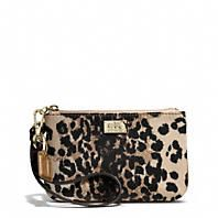 Coach :: MADISON PHOEBE SHOULDER BAG IN OCELOT PRINT FABRIC