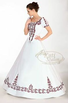 hungarian wedding dress