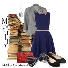 Matilda - Matilda the Musical Matilda Costume, School Costume, Nerd Geek, Disney Style, Elves, Broadway, Dress Up, Outfit Ideas, Costumes