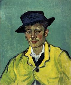 Vincent van Gogh: Porträt Armand Roulin, 1888. Museum Folkwang, Essen