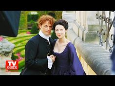 *NEW* BTS Pics of Sam & Cait from the TV Guide Covershoot |