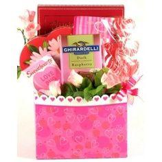 Be My Valentine, Gift Basket