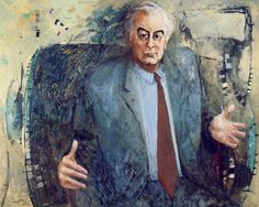 Clifton Pugh 'The Hon E.G. Whitlam' 1972 winner