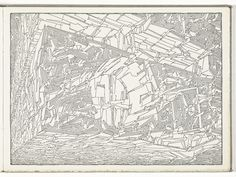 Lebbeus Woods,Sketchbook (30 July 1995, NYC - 23 May 1998, NYC), 1995; Collection SFMOMA, Accessions Committee Fund purchase; © Estate of Lebbeus Woods (2001.153A-Y)