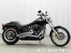 2007 HARLEY-DAVIDSON SOFTAIL NIGHT TRAIN FXSTB CRUISER MOTORCYCLE | Warrenville, Illinois | Used Motorcycles and Parts