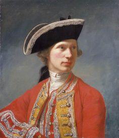 Portrait of Captain William Baillie - Robert Edge Pine (1742-1788)