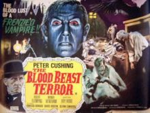 The Blood Beast Terror is a 1968 Tigon horror movie starring Peter Cushing. The Blood Beast Terror was directed by Vernon Sewell. Horror Movie Posters, Horror Films, Wanda Ventham, Vernon, Detective, Witchfinder General, Terror Movies, Classic Monsters, Best Horrors