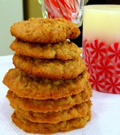 Chinese-Five Spice Oatmeal Cookies – Noble Pig Cookie Desserts, Just Desserts, Cookie Recipes, Delicious Desserts, Dessert Recipes, Spice Cookies, Oatmeal Cookies, Holiday Baking, Christmas Baking