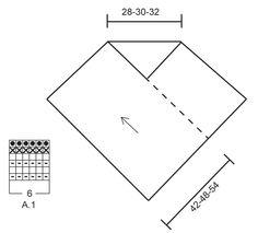 Ainaoikeinneulottu DROPS poncho intialaisilla ristisilmukoilla 1-kertaisesta Cloud- tai 2-kertaisesta Air-langasta. Koot S-XXXL.