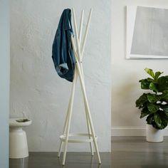 kleiderablage im schlafzimmer wohnideen-selber-machen-kleiderstaender-weiss