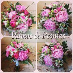 Novias de Peonias.