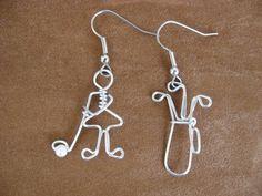 Golf Earrings!