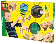 MAŁY STOLARZ - rozbudowany zestaw - zabawki kreatywne dla chłopców