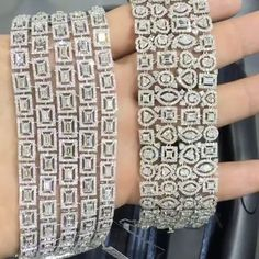 STUNNING!!! #Diamond Bracelets by @goharjewelry #jewelry #highjewelry #finejewelry #bola3jewelry