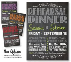 Hey, I found this really awesome Etsy listing at https://www.etsy.com/listing/164109574/rehearsal-dinner-invitation-chalkboard