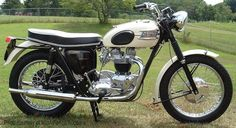 1963 Triumph Bonneville. Doesn't have to be a '63, just an old Bonnie.