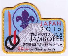 23rd World Scout Jamboree JAPAN 2015 Mount Fuji Patch