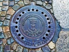 Manhole cover - Gdańsk, Polska - 09.10.2011 | Flickr - Photo Sharing!