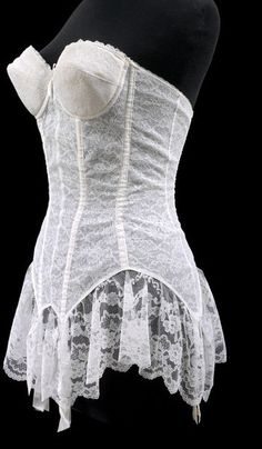 Corset    Place of origin:  Paris, France (designed)    Date:  1960-1969 (made)    Artist/Maker:  Perele, Simone (designer)