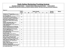 Sales Activity Tracker Daily Planner, Cold Call Tracker Template ...