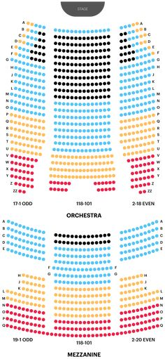 Orpheum Theatre Seating Chart - Boston Theatre Seating Maps