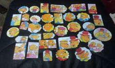Berenstain Bears Scrapbooking Die cuts set of 38 pc by amylaugh, $5.95
