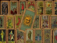The Deck Of The Bastard The Most Unique Vintage by tarotbyseven