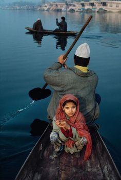 Dal Lake, Sringar, Kashmir by Steve McCurry