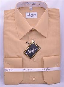 MEN'S MUSTARD DRESS SHIRT