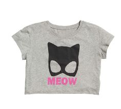 The Cats Meow Cropped Tshirt