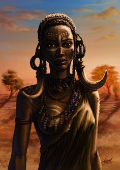 Black Women Art! – African by ayuttt
