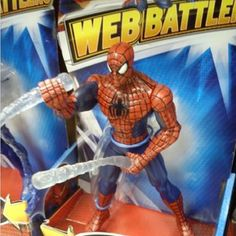 Wow, Spider-Man can really shoot his goo: