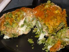 Deep Dish Covered Baker Rolled Up Chicken