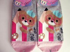 NWT Cute Bear Socks