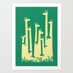 Such A Great Height Art Print by Budi Satria Kwan - $19.99