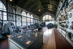 Die sanierte Maschinenhalle auf Zeche Zollern: Bild 1 von 24