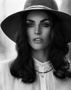 Model Hilary Rhoda, photographer Thomas Whiteside for DuJour, Spring 2013
