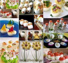 Inšpirujte sa a vytvorte prekrásne predjedlá ktoré zaujmu - Báječné recepty Cute Food, Good Food, Yummy Food, Food Design, Health Benefits Of Eggs, Cuisine Diverse, Snacks Für Party, Food Decoration, Food Crafts