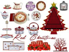 Pilar's Dining Red Christmas