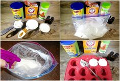How To Make Fizzy Toilet Cleaning & Freshening Bombs