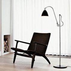 Hans Wegner CH25 Easy Chair   Danish Design Store $3,815