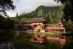 Byodo-In Temple in the Valley of the Temples! Oahu, Hawaii