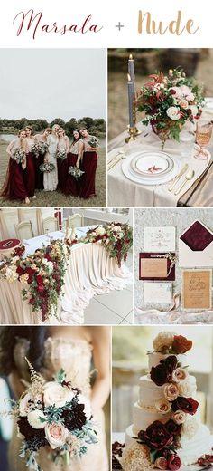 10 Cores que você pode usar para combinar com Marsala - Wedding blog Brasil
