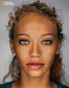 By 2050 this is what the average person will look like. #meltingpot