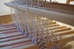 Toika Tie Ups « Bloomin Loom  brilliant modification of Vav Stuga technique...puts them where you can see them, instead of UNDER the treadle.