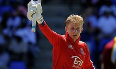 Jos Buttler and Joe Root had combined to add 175 for the fifth-wicket as England racked up 303 for six